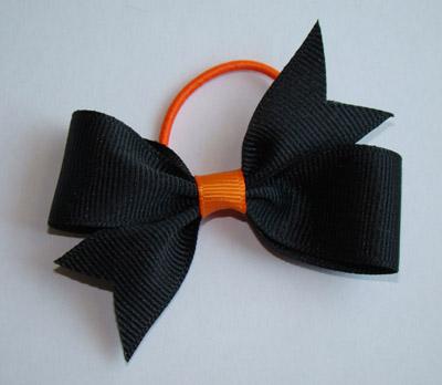 Black with Orange Center PONY O's