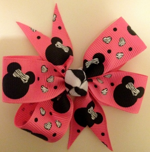 Medium Pink Minnie Mouse