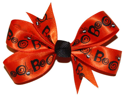 Small (Baby) Satin Boo Bow