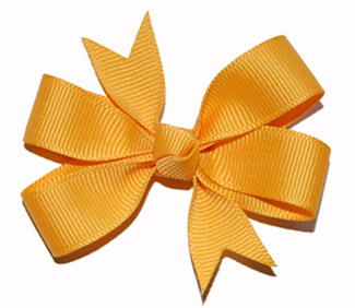 Small (Baby) Yellow Gold Bow