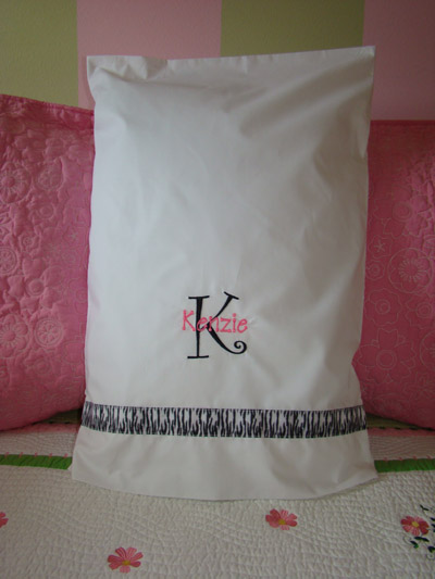 Zebra Pillowcase