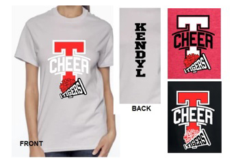 T-Cheer T-Shirt with Megaphone